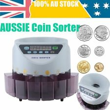 Modern Australian Coin Counter Money Sorter Automatic Counting Sorting Machine E
