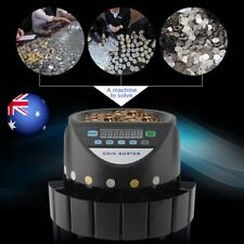 COIN COUNTER AUSTRALIAN SORTER AUTOMATIC MONEY COUNTING MACHINE KE