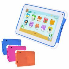 7'' inch Quad Core HD Tablet PC for Kids Android 4.4 KitKat Dual Camera WiFi New