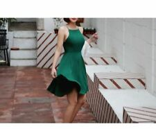 Women New Summer Back Cross-straps Hollow Out Spaghetti Strap Dress