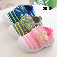 Baby Soft Sole Squeaky Casual Toddler Pre-walker Kids Children Shoes 3-18 Mon