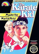 THE KARATE KID NES Nintendo Scratched
