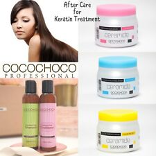 COCOCHOCO SULPHATE FREE SHAMPOO & CONDITIONER & MASK AFTER CARE KERATIN BLOWDRY