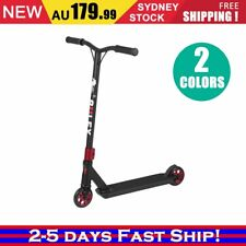 Deluxe Scooter Black Scooter Commuter Scooter Adult Kids Christmas BLACK/RED KP