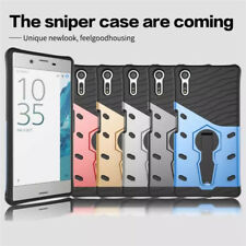 Heavy Duty Shockproof Hybrid Stand Cover Case For Sony Xperia L1 XA1 XZ1 XZ