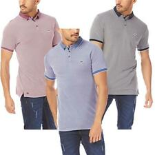 Mens Le Shark Polo T-shirt Birdseye Pique Designer Fit Short Sleeve Top MALTON