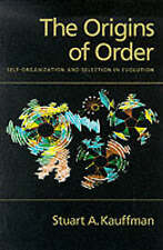 THE ORIGINS OF ORDER Self Organization & Selection in Evolution, Kauffman - NEW!