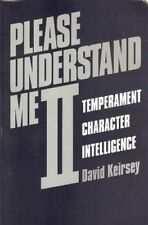 PLEASE UNDERSTAND ME II: TEMPERAMENT, CHARACTER, INTELLIGENCE By David NEW