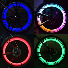 New Safe Bright Bike Bicycle Cycling Car Wheel Tire Tyre Led Spoke Light Lamp ON
