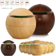 LED USB Aroma Essential Oil Diffuser Ultrasonic Mist Humidifier Air Purifier US