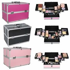 Pro Cosmetic Box Pouch Makeup Carrying Bag Beauty Case Toiletry Travel Nail PVC