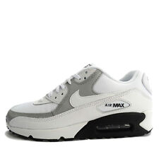 Nike WMNS Air Max 90 [325213-126] NSW Running White/Wolf Grey-Black