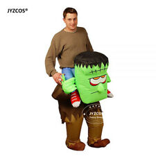 Frankenstein Costume Scary Halloween Inflatable Blow Up Suit Party Cosplay Dress