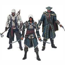 Assassins Creed 4 Black Flag Edward Haytham Connor PVC Action Figure Model Toy