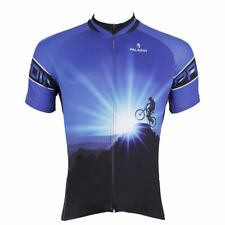 Men's Sports Cycling Jersey Clothing Bicycle Short Sleeve Tops Quick Dry W0063