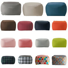 Kids Bean Bag Cover Toy Storage Bag Children's Room Sofa Chair Organizer