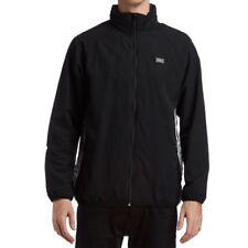 HUF The Concrete Track Jacket in Black NWT HUF WORLDWIDE