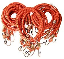 "Heavy Duty 24"" 36"" 48"" Long 1/2"" Thick Bungee Cords Tie Down Cord Strap (15-Pc)"