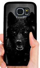 WILD WOLF ANIMAL PHONE CASE COVER FOR SAMSUNG NOTE & GALAXY S3 S4 S5 S6 S7 S8 S9