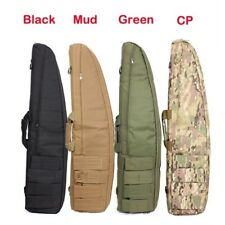 Hunting Tactical Rifle Gun Scope Black Camo Shoulder Bag Hand Carrying Case 48In