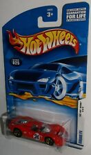 Hot Wheels 2002 #025 First Editions #13 of 42 Ferrari P4 Red Black #24 Gold 5SPs