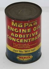 NOS 1948-53 Mopar Engine Oil Additive Concentrate Tin Can