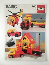 LEGO Basic Instruction Manual (#740