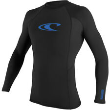 New ONEILL 2018 YOUTH BASIC SKINS L/S CREW BLACK