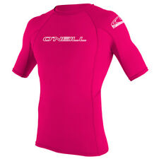 New ONEILL 2016 YOUTH BASIC SKINS S/S CREW WATERMELON