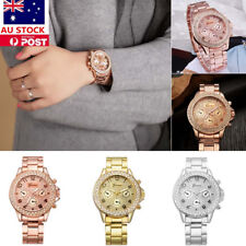 Women Wristwatch Rhinestone Crystal Quartz Analog Fashion Casual Luxury Watch