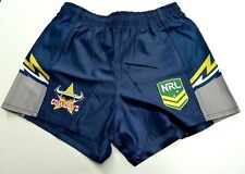 "NRL NORTH QUEENSLAND COWBOYS KIDS/YOUTHS HOME SUPPORTER SHORTS ""NEW FOR 2018"""