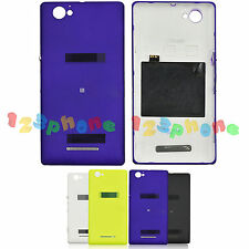 Nfc + Rear Back Door Housing Battery Cover Case Lot Tool For Sony Xperia M C1904