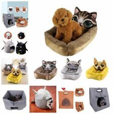 3D Pet Dog Cat Puppy Bed Soft Warm Washable Heavy Duty Pad Mat Cushion House