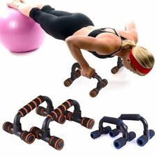 Push Up Home Gym Stands Handles Exercise Sports Workout Equipment Power Strength