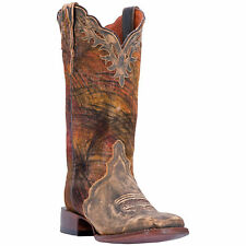 Dan Post Womens Tan Cowboy Boots Leather Cowboy Boots Square Toe