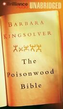 THE POISONWOOD BIBLE unabridged audio book on CD by BARBARA KINGSOLVER Brand New