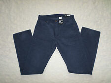 GAP 1969 CORDUROYS PANTS MENS STRAIGHT SIZE 30X32 DARK BLUE COLOR NWT