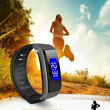 Smart Watch Bracelet Bluetooth Fitness Tracker Pedometer For IOS Android iPhone