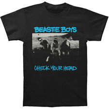 Beastie Boys Men's  Check Your Head Mens Soft T Slim Fit T-shirt Black