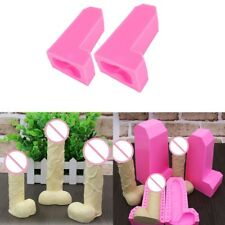 Silicone Baking Mold Pink Penis Shaped Cake Soap Chocolate Jelly Candy Mould