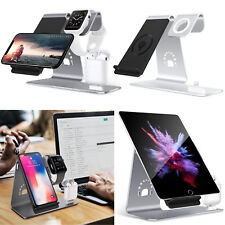 Wireless Qi Charging Stand Dock for iPhone X 8 Samsung S8 S7 Apple Watch Airpods