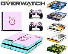 NEW Game Overwatch Skin For PS4 /Pro /Slim Sony Playstation 4 Consoles Skin