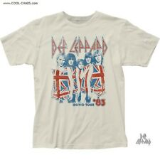 Def Leppard T-Shirt / Def Leppard 1983 World Tour Tee,Retro New,Union Jack Tee