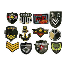 MEW Iron on Sew On Army Embroidered Patch Applique military Embroidery Motif