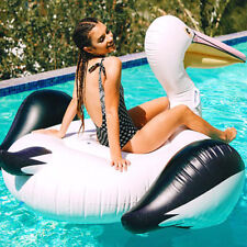 YhsBUY® 150cm Giant Inflatable Toucan Pool Float Newest Ride-On Swan Water Bed
