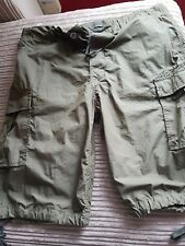diesel mens shorts size 34