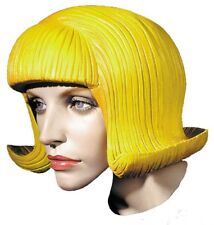 Yellow Rubber Wig
