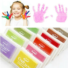 Child Craft Oil Based DIY Ink Pad Rubber Stamps Fabric Wood paper Scrapbookin