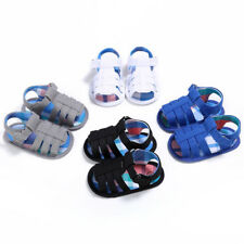 Infant Canvas Sandals Shoes Baby Unisex Toddler Kids Girls Boys Soft Sole Crib