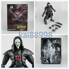 Overwatch OW Reaper BLACK PVC Action Figure Toy Collectible New 26cm/10""